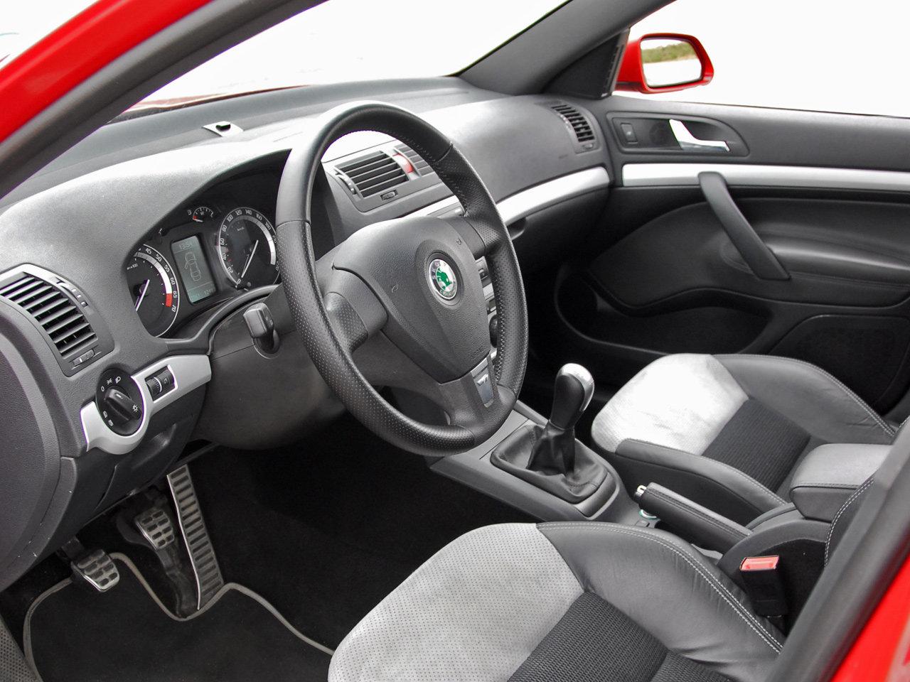 Skoda Octavia RS 1Z Interior