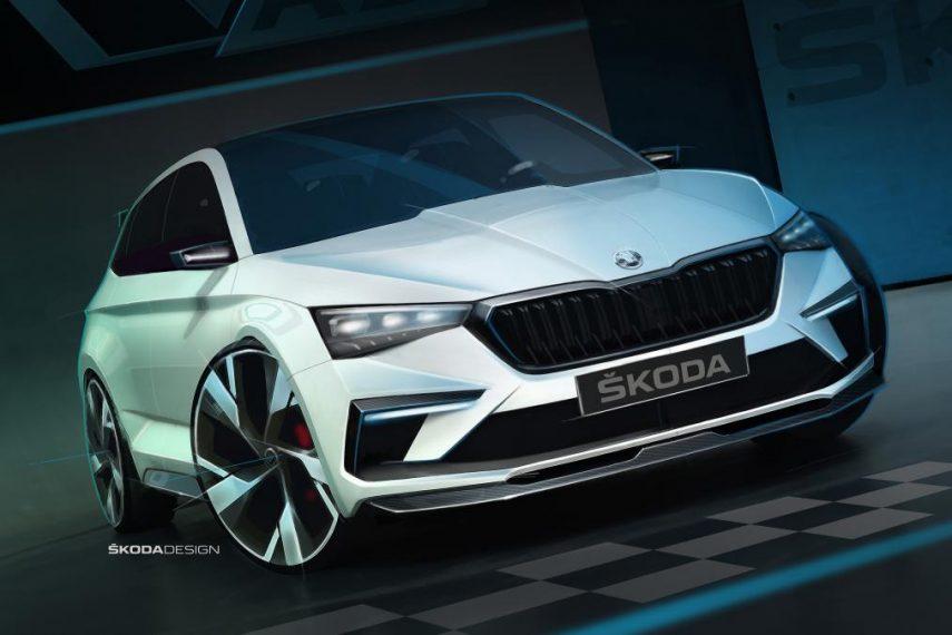 El Skoda Vision RS será híbrido enchufable