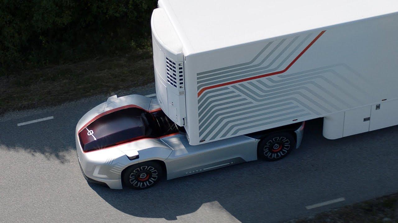 Volvo Vera, el camión eléctrico y autónomo