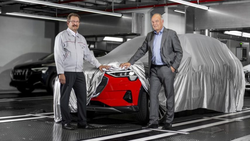 Audi ya fabrica el e-tron, su primer modelo eléctrico