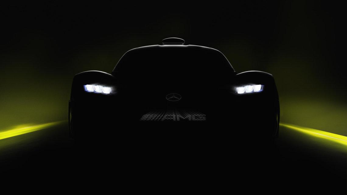 Mercedes-AMG Project ONE, último teaser antes de Frankfurt