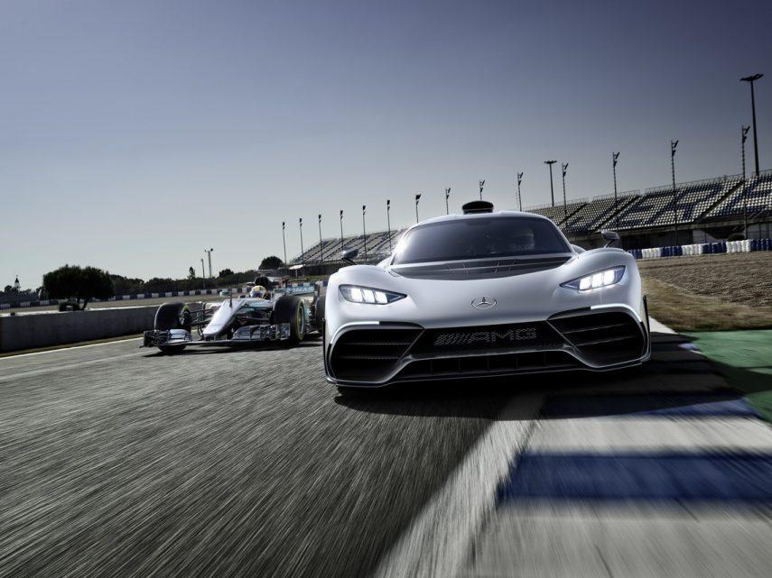 "Mercedes-AMG Project ONE: como un Fórmula 1 ""de calle"""