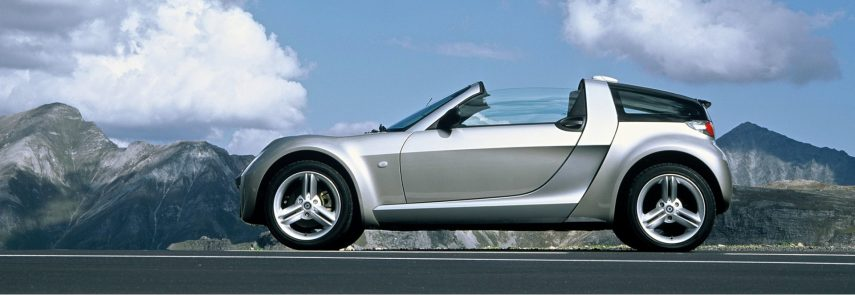 Coche del día: smart roadster coupé