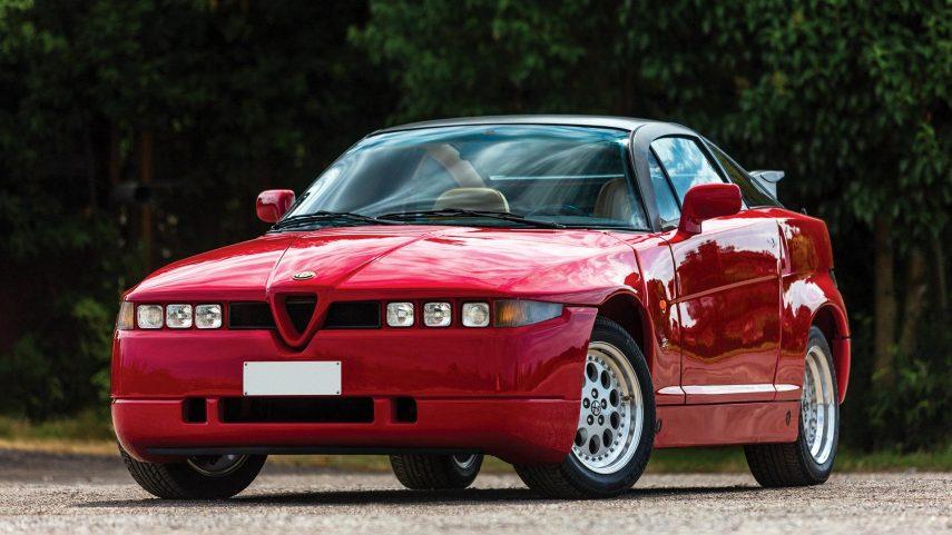 Coche del día: Alfa Romeo SZ