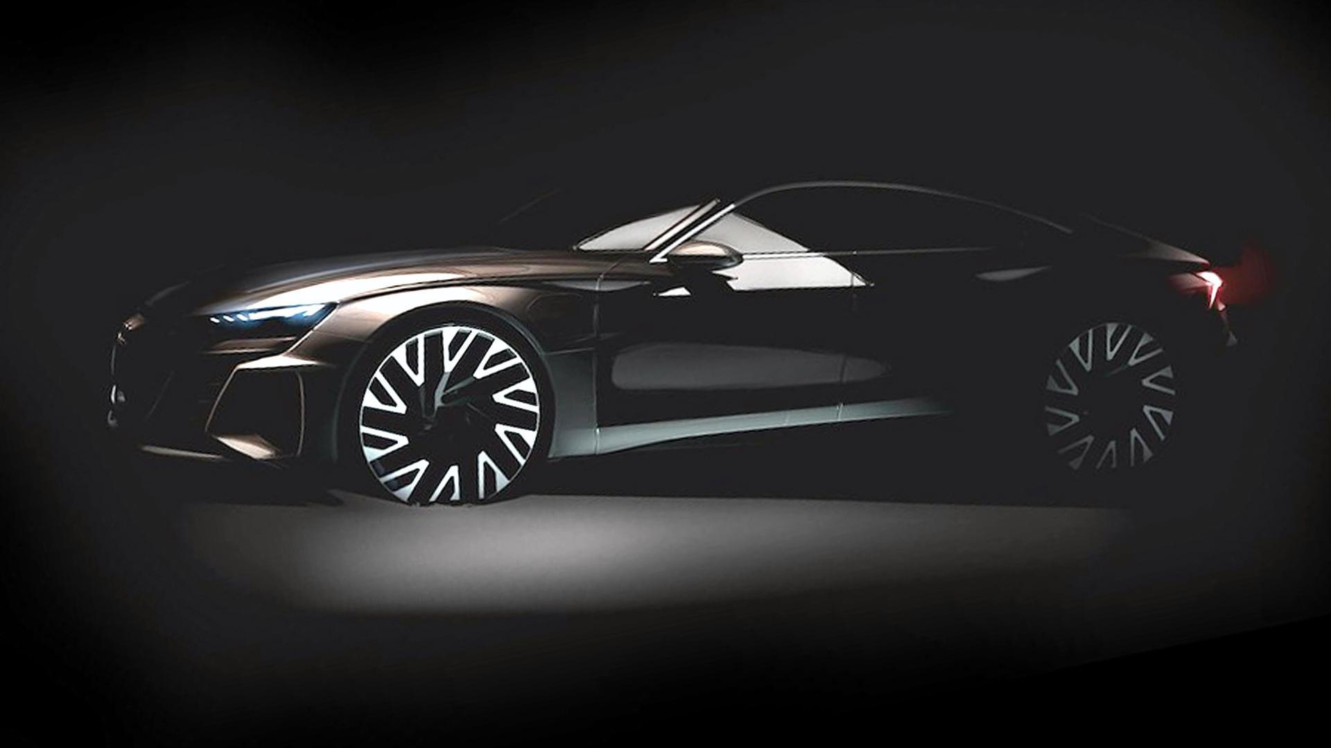 El Audi e-tron GT llegará en 2020