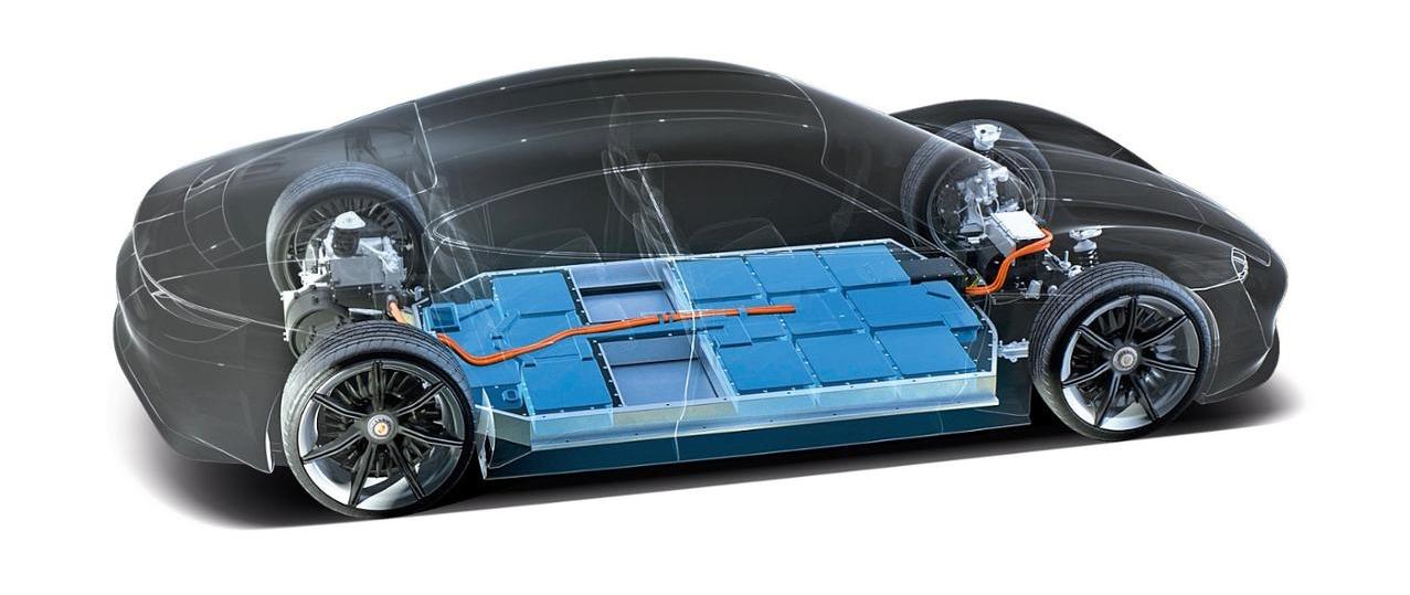 Bateria Porsche Mission E