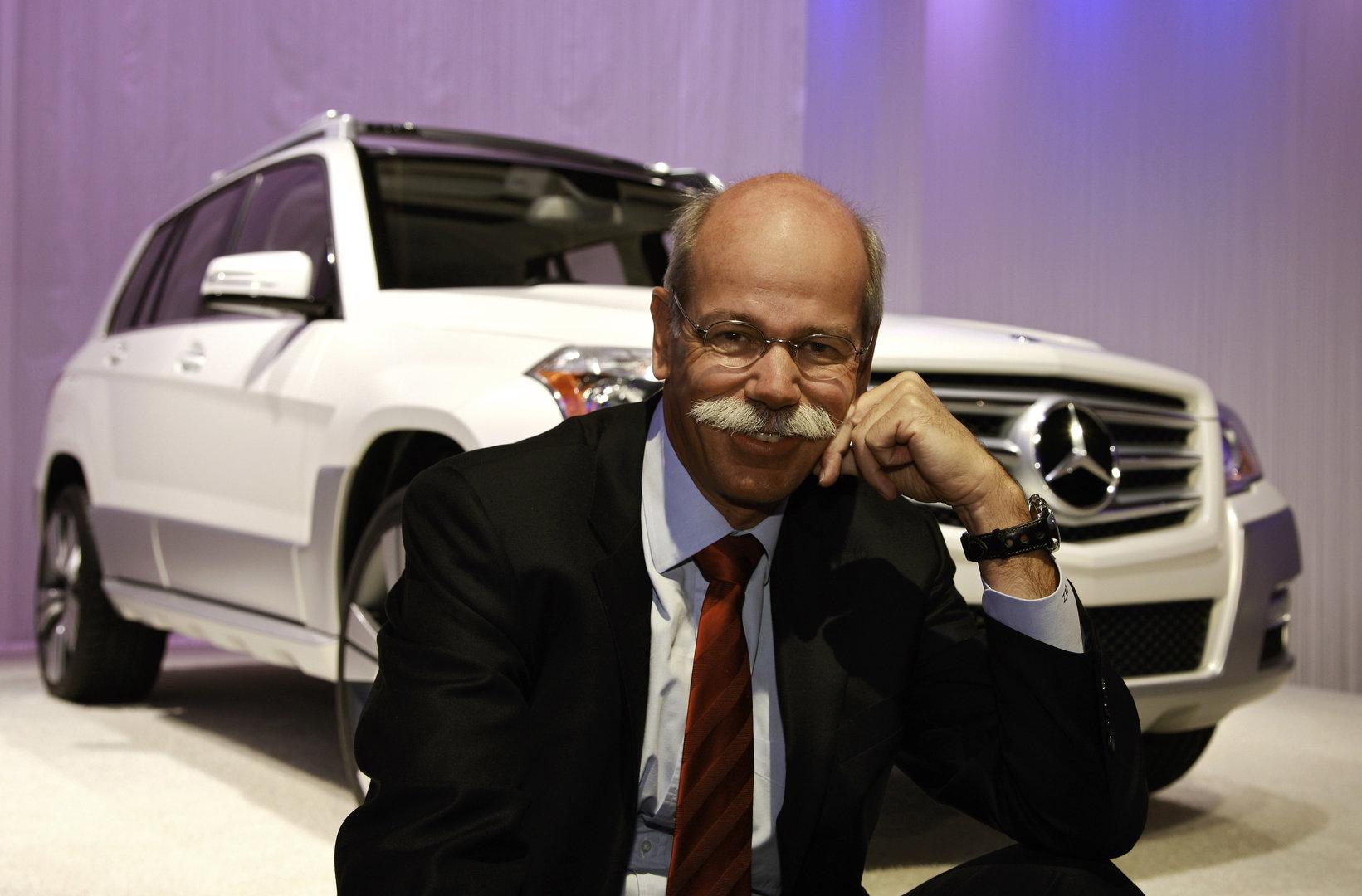Dieter Zetsche 2008 Mercedes GLK Freeside