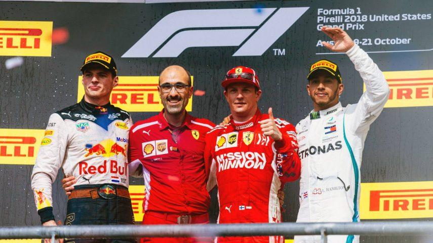 GP de EEUU: Räikkönen retrasa la fiesta de Hamilton