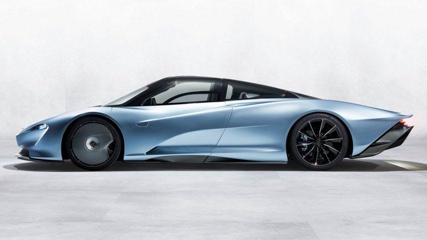 El McLaren Speedtail al detalle