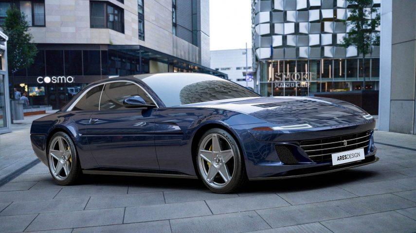 Inesperado y bienvenido. Así es el Ferrari 412 del siglo XXI