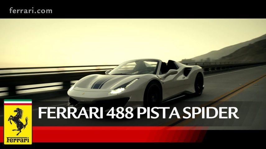 Desata tus sentidos con el Ferrari 488 Pista Spider