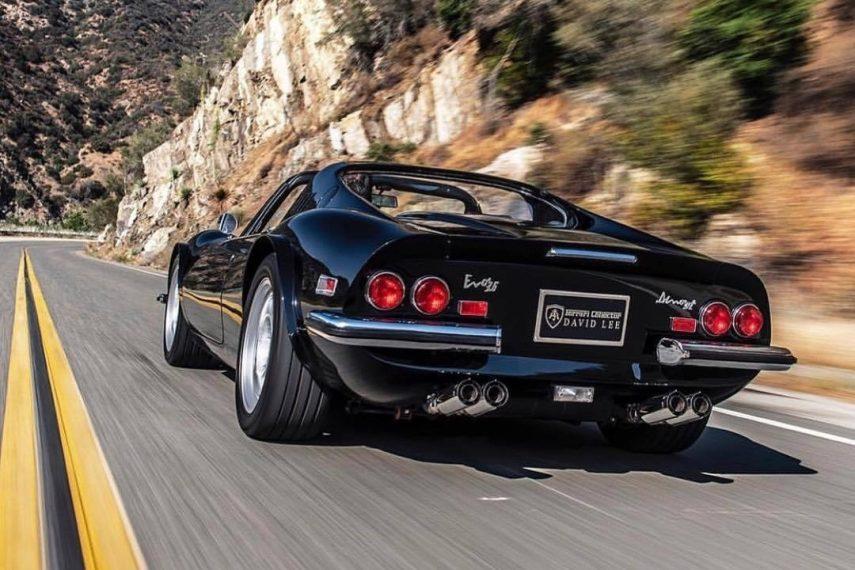 El Ferrari Monza 3.6 Evo de David Lee