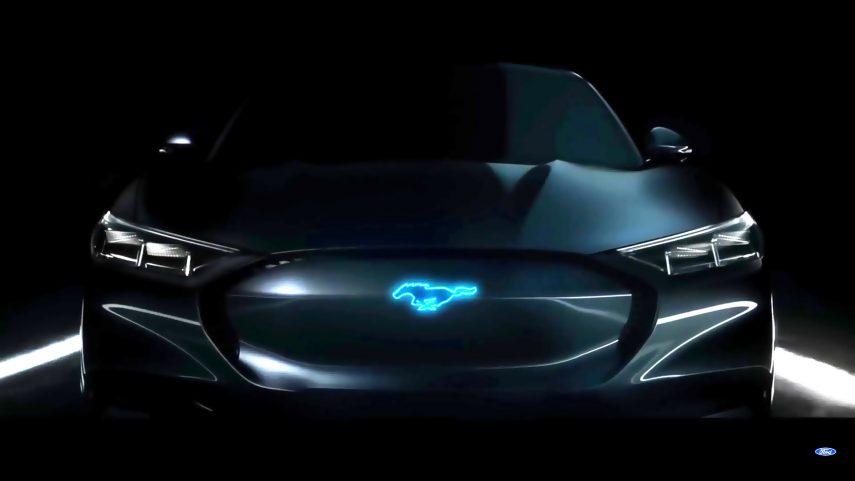 ¿Es este el nuevo Mustang eléctrico?