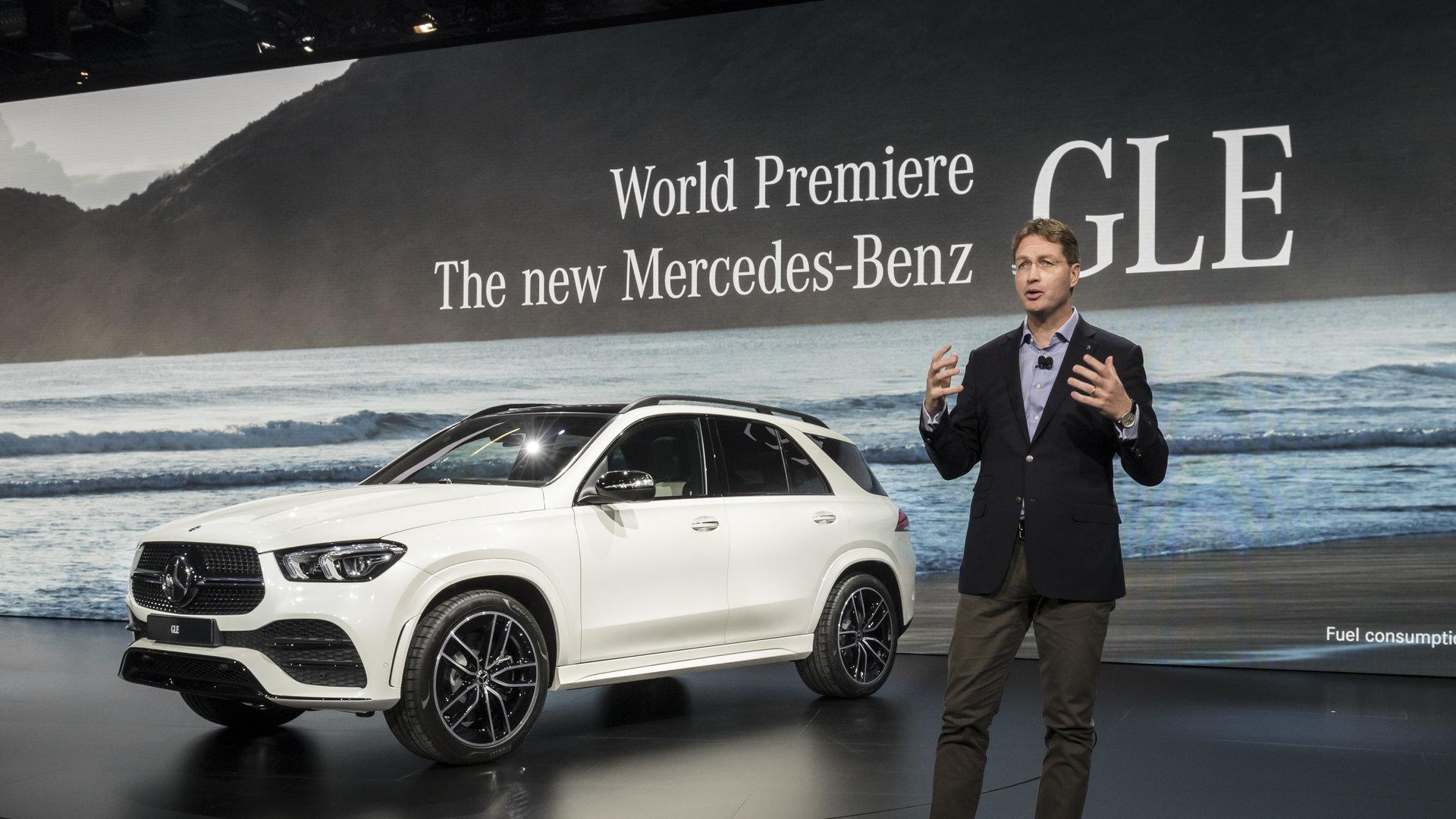 Ola Källenius 2018 Mercedes GLE