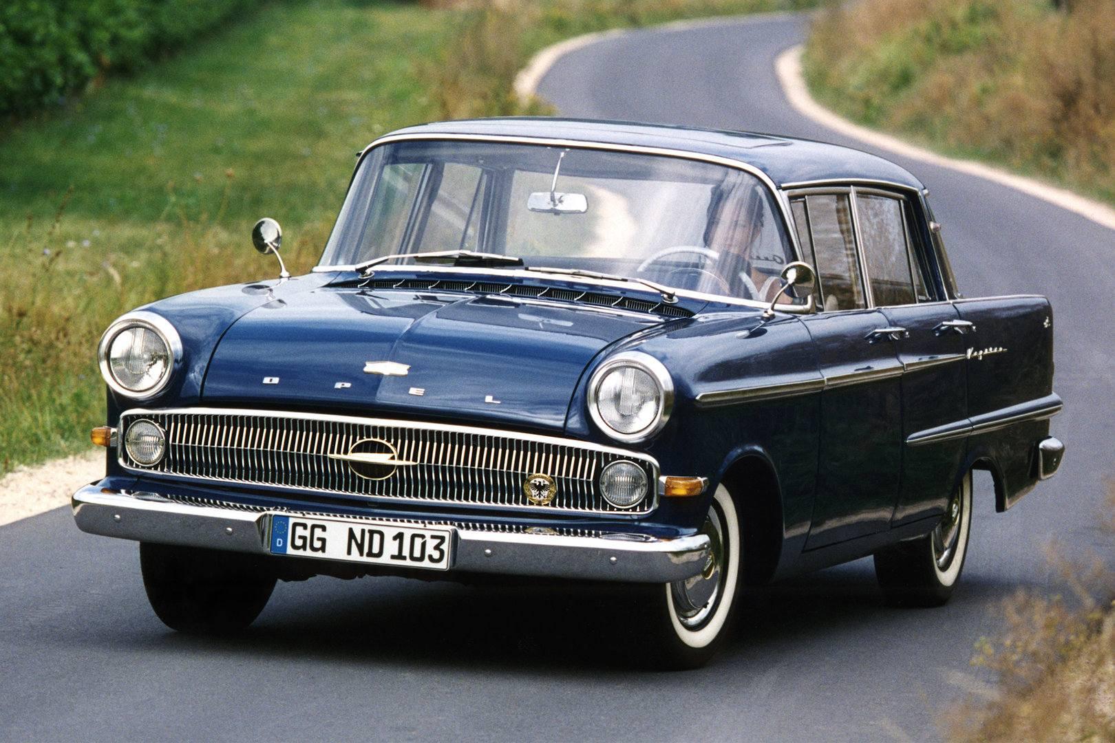 Coche del día: Opel Kapitän (P2)