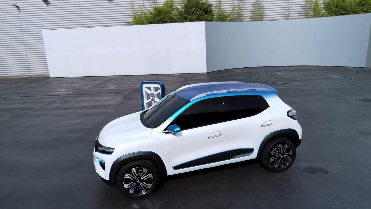Nuevo Renault K-ZE, un SUV pequeño y eléctrico