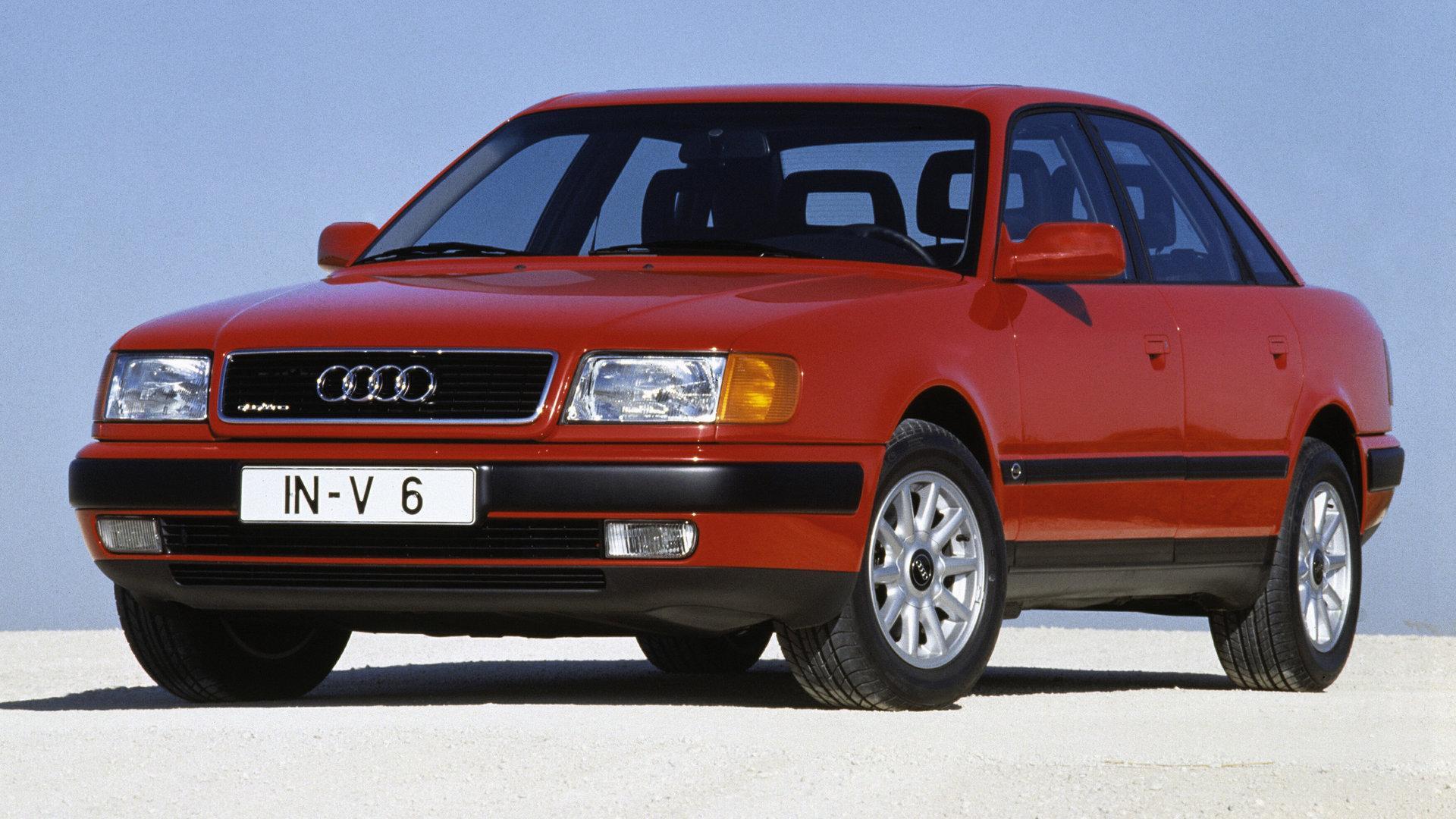 Coche del día: Audi 100 2.8 E (C4)