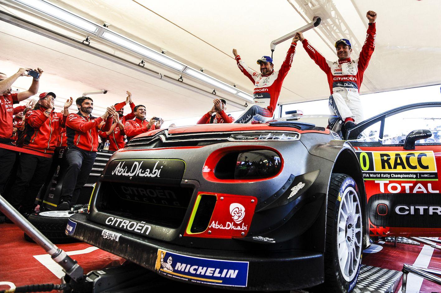 Loeb-Elena vuelven a ganar en el Rally RACC de Cataluña