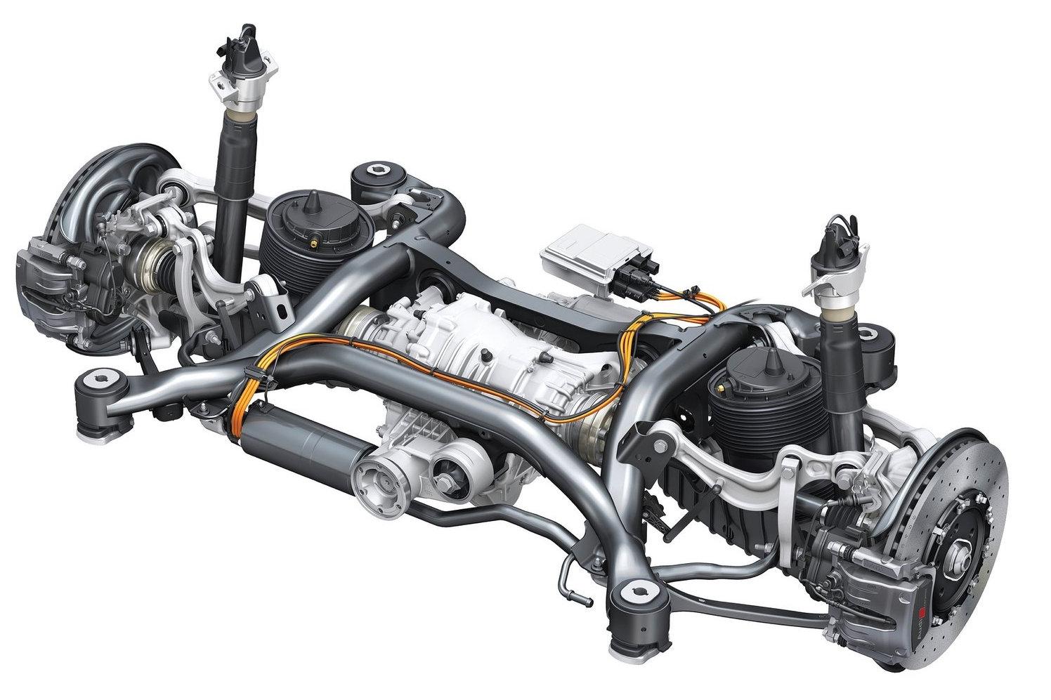 Audi SQ7 Multilink