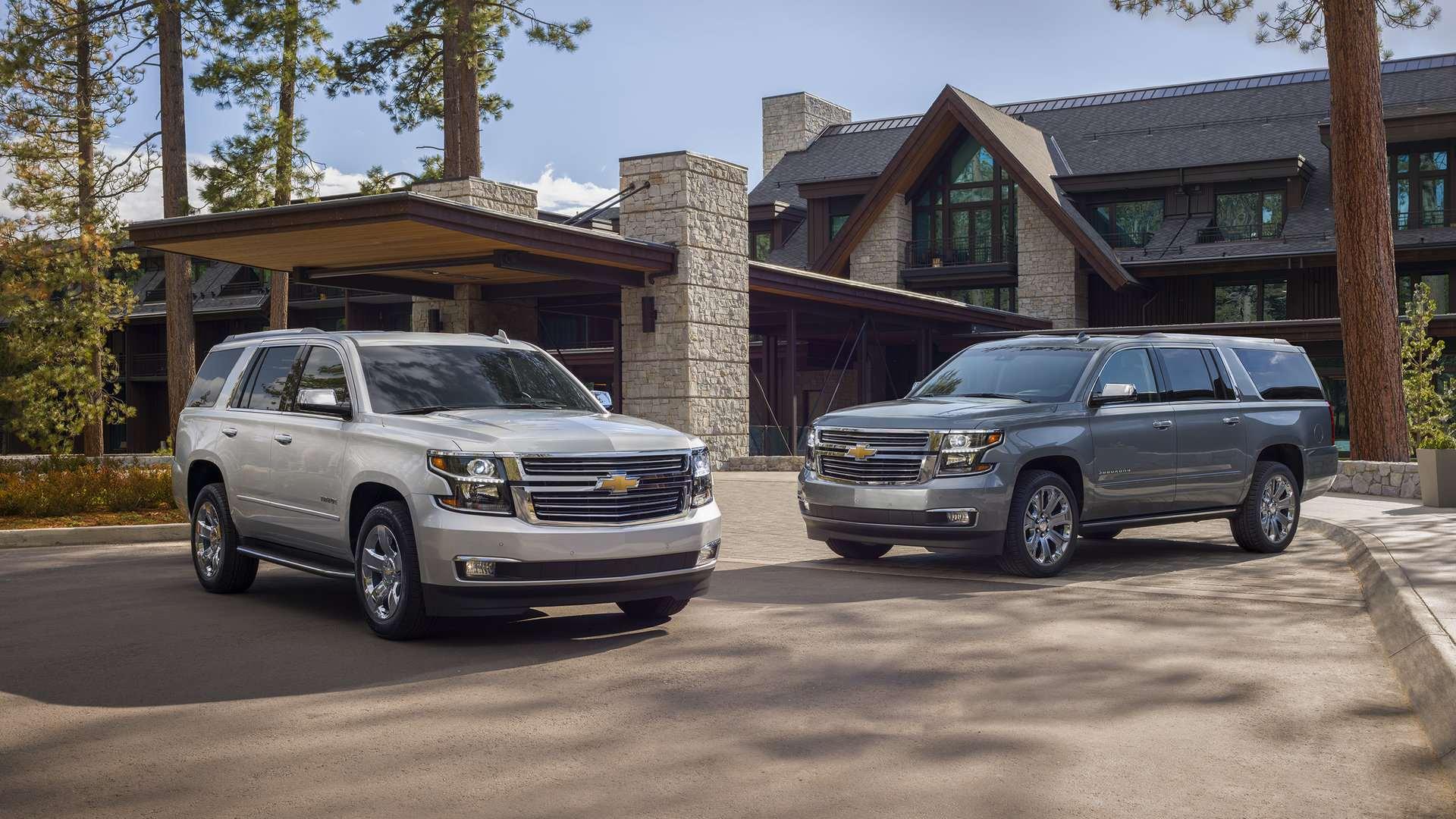 2019 Chevrolet Tahoe Premier Plus Y Suburban Premier Plus