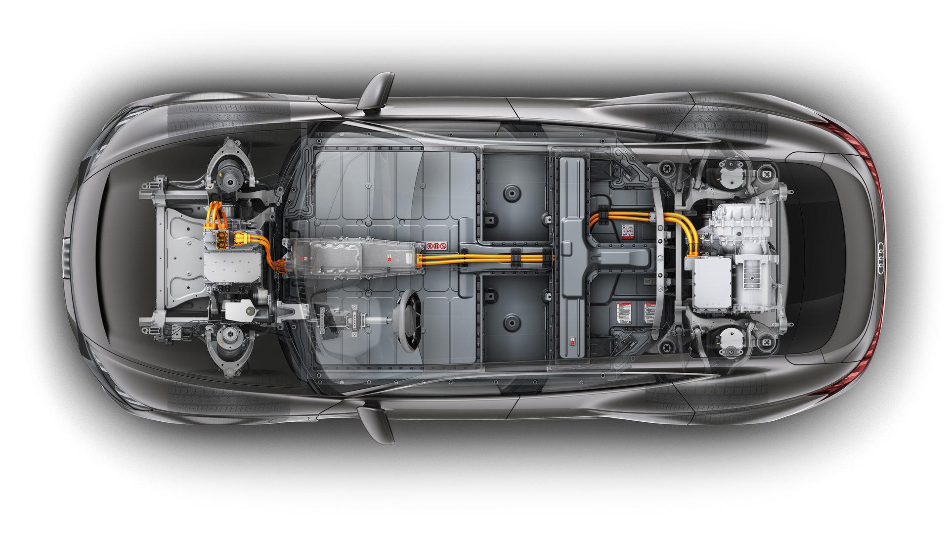 Audi E Tron GT Concept Plataforma 3