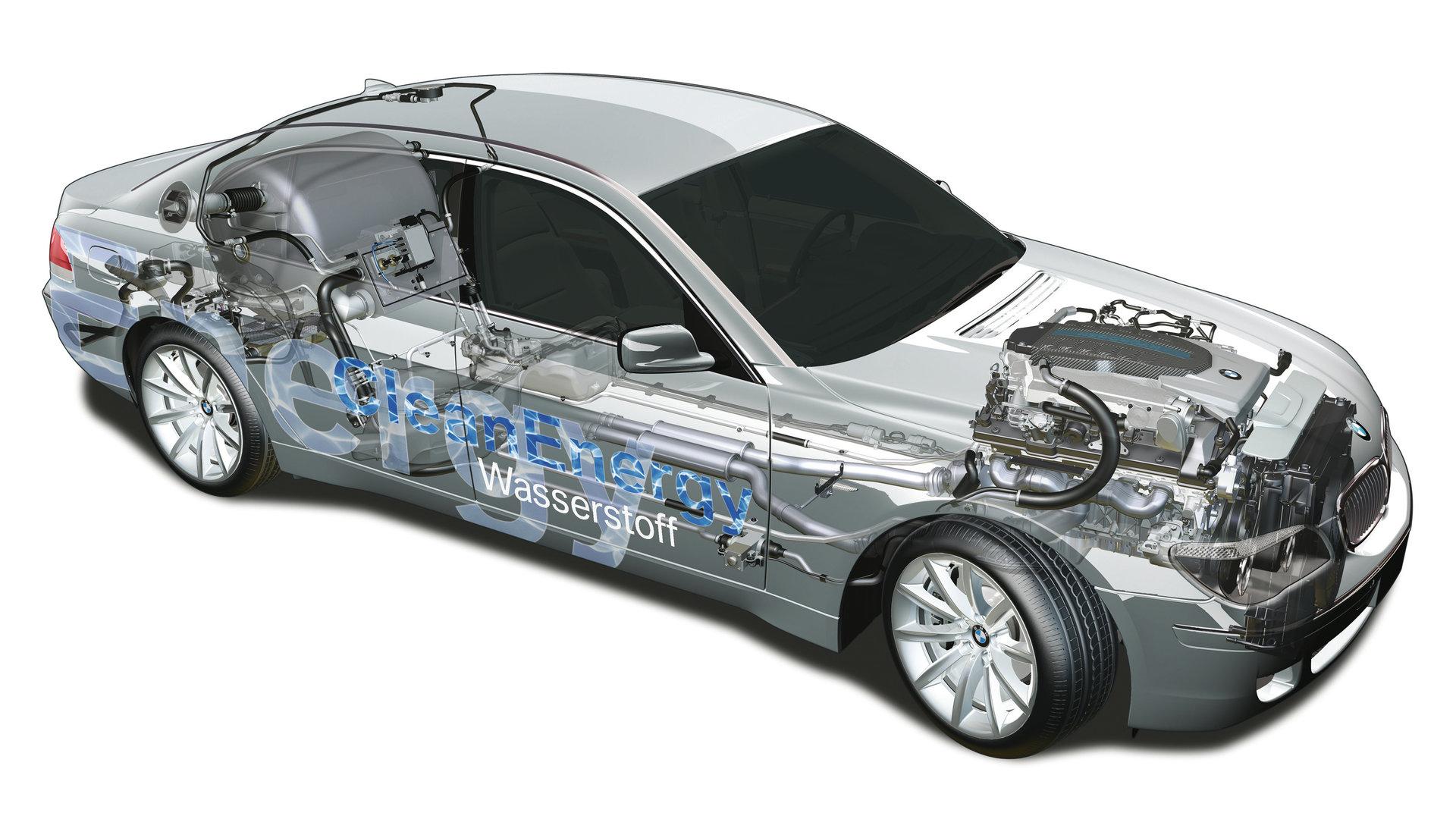 BMW Hydrogen 7 Esquema