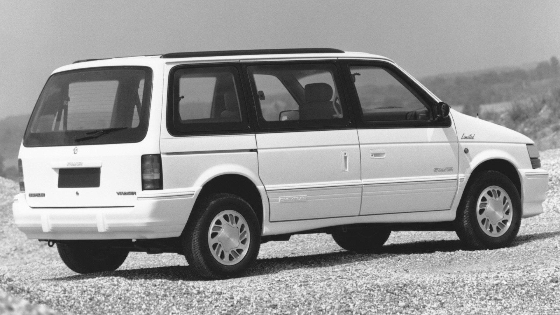 Coche del día: Chrysler Voyager 2.5 TD (1994)