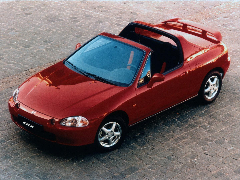 Coche del día: Honda CR-X del Sol VTi