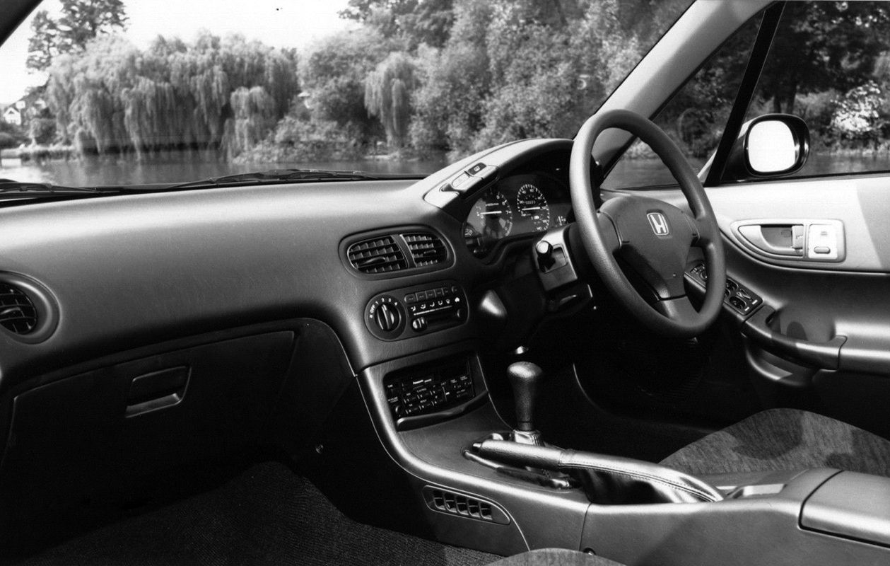 Honda Civic CR X Interior
