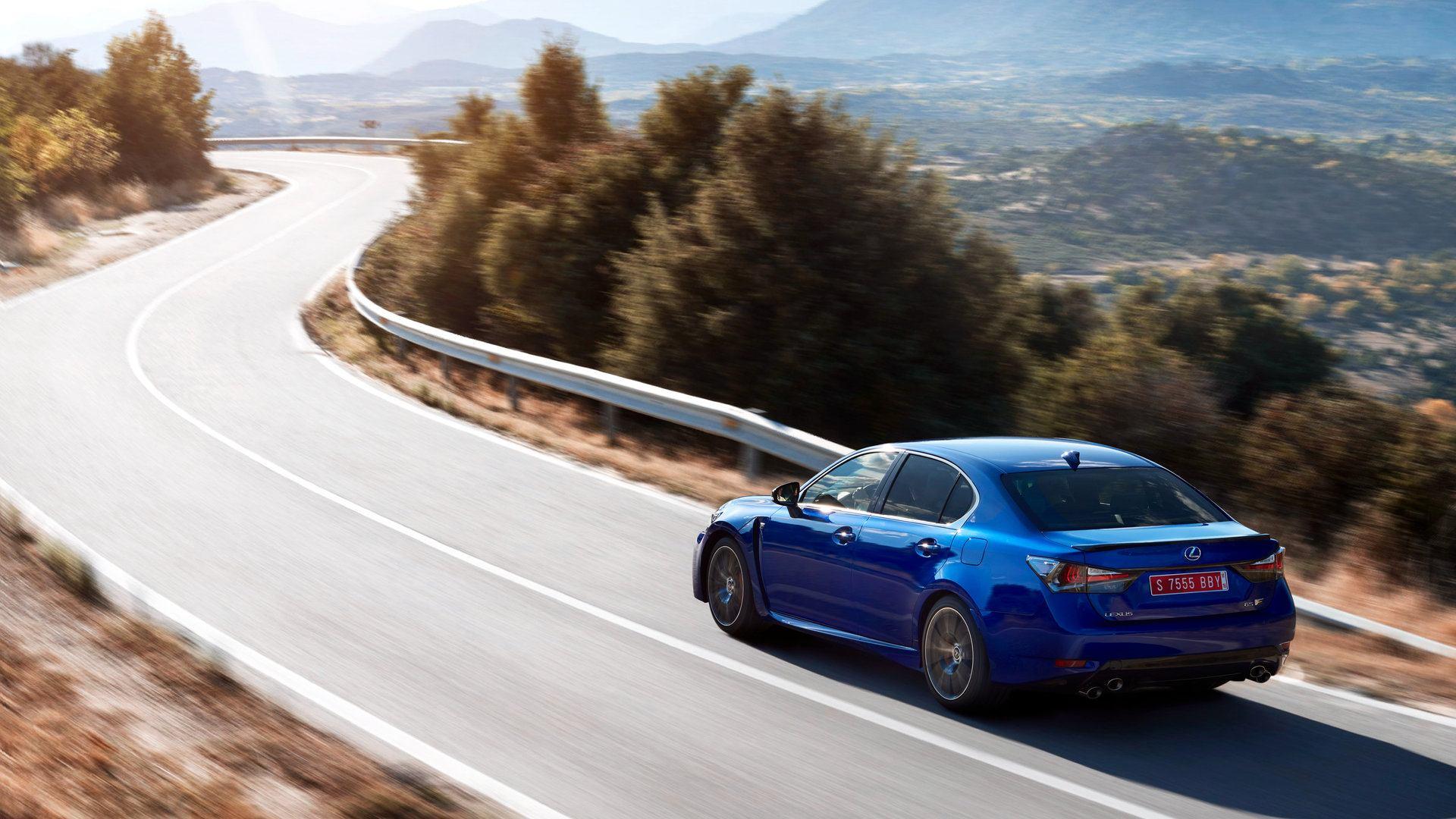 Lexus GS F Trasera