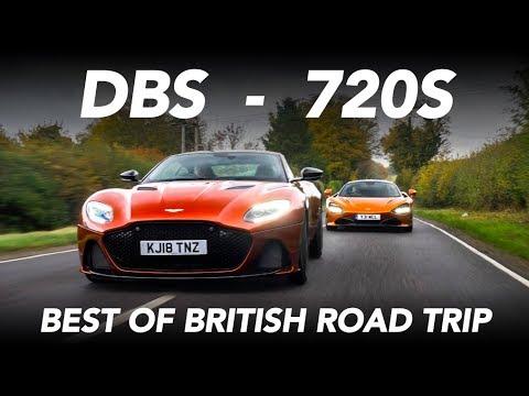 Aston Martin DBS Superleggera, Mclaren 720S y Bentley Continental GT