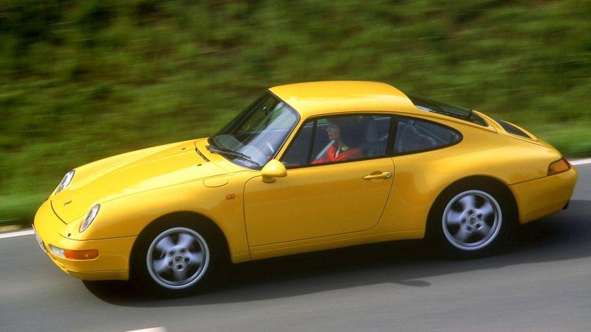 Coche del día: Porsche 911 Carrera 3.6 (993)
