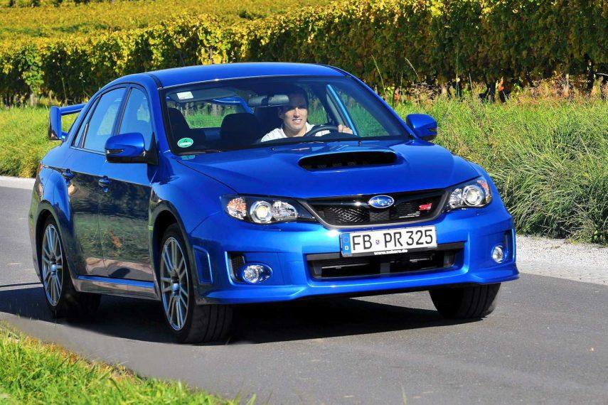 Coche del día: Subaru Impreza WRX STI (2010)