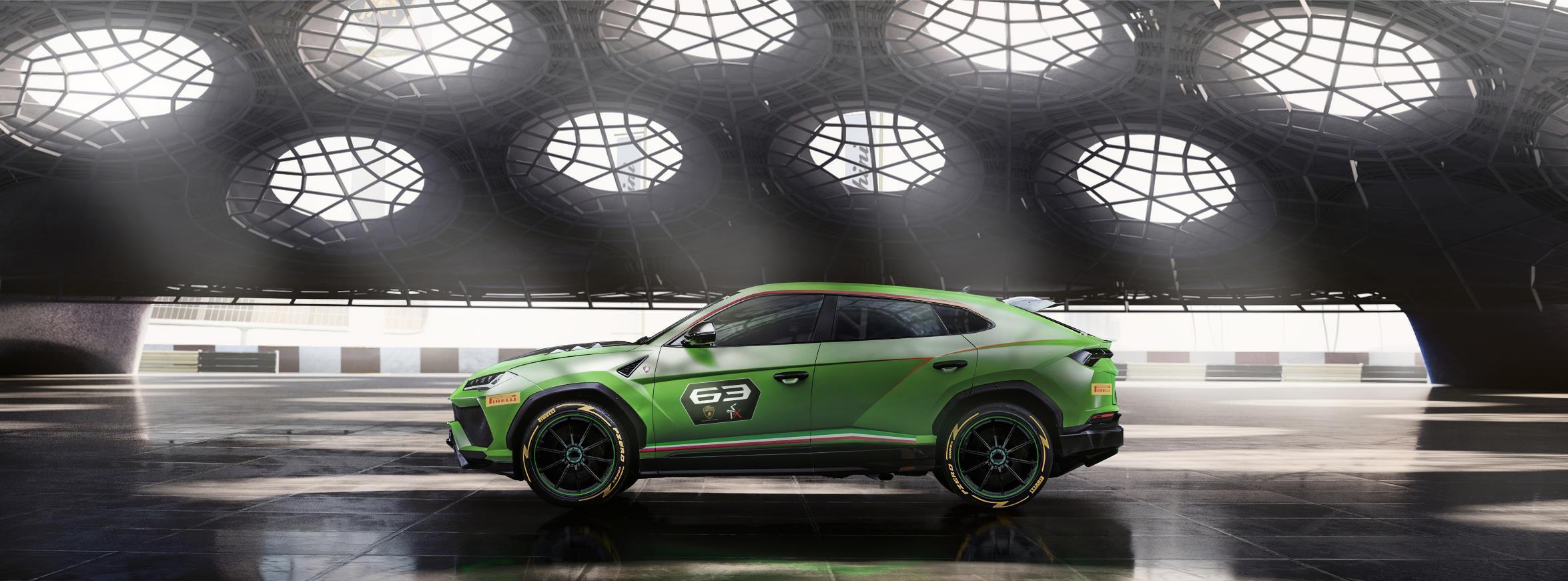 Lamborghini presenta el primer SUV de competición, Urus ST-X