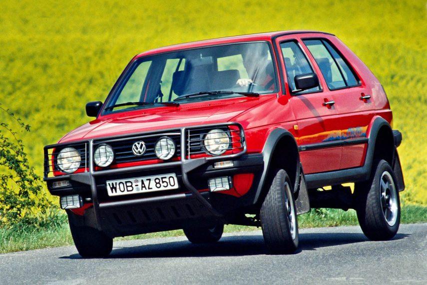 Coche del día : Volkswagen Golf Country