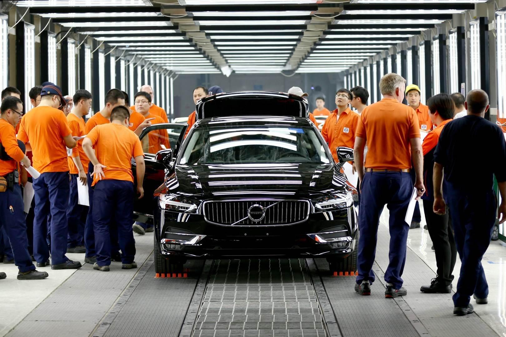 BMW y Volvo reducen su producción en Estados Unidos
