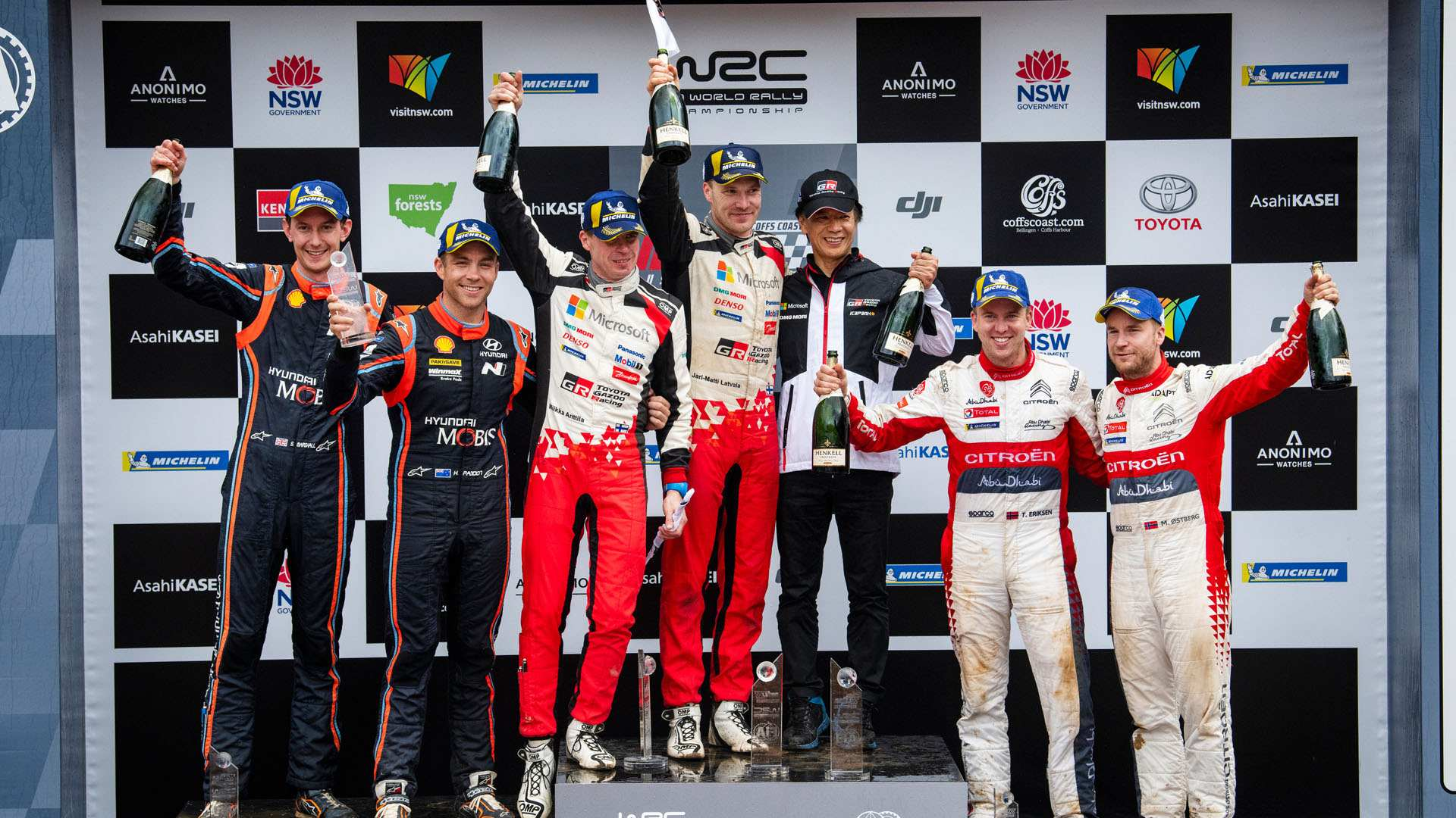 WRC: Sébastien Ogier, campeón del mundo de Rallies