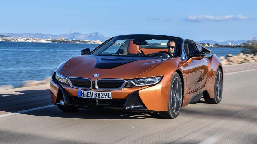 Coche del día: BMW i8 Roadster