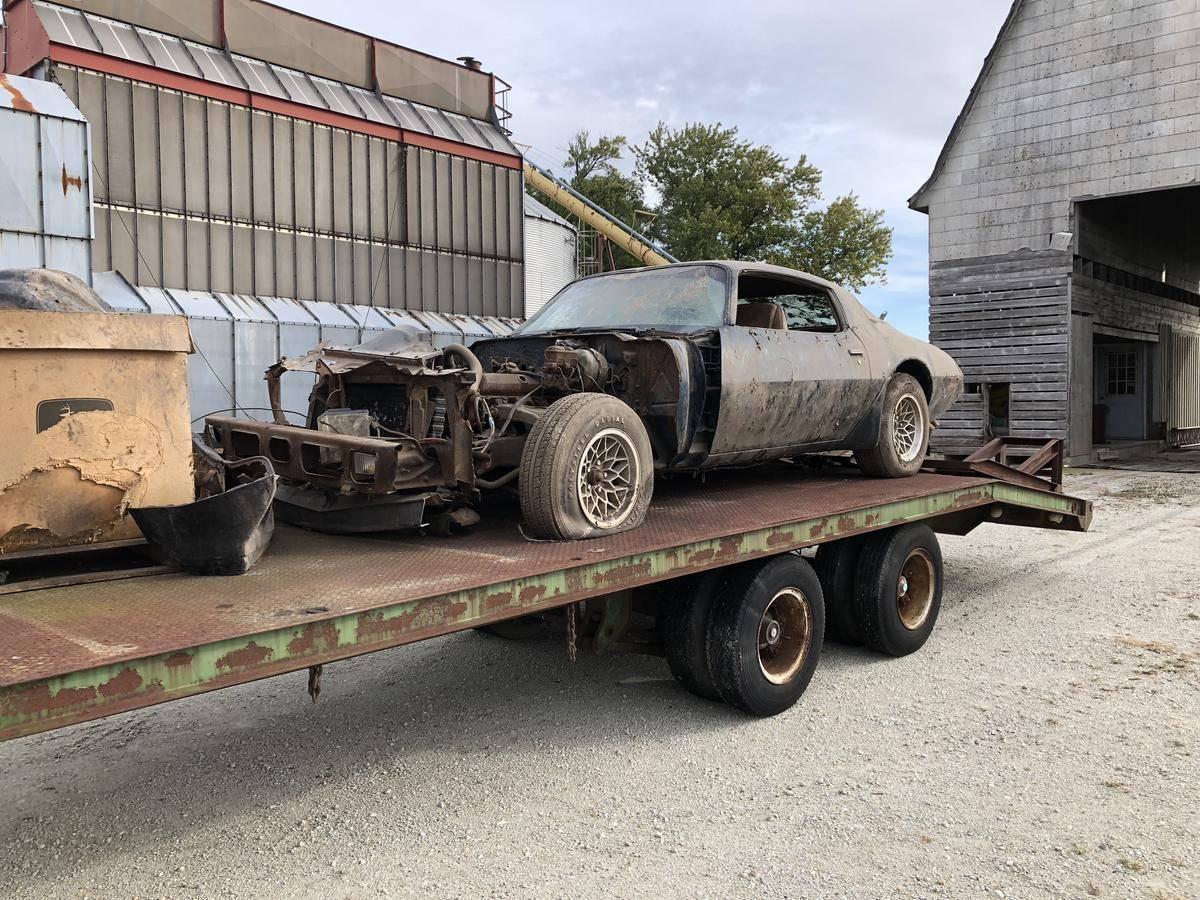 Este Pontiac Trans Am fue el último coche que usó Steve McQueen en el cine