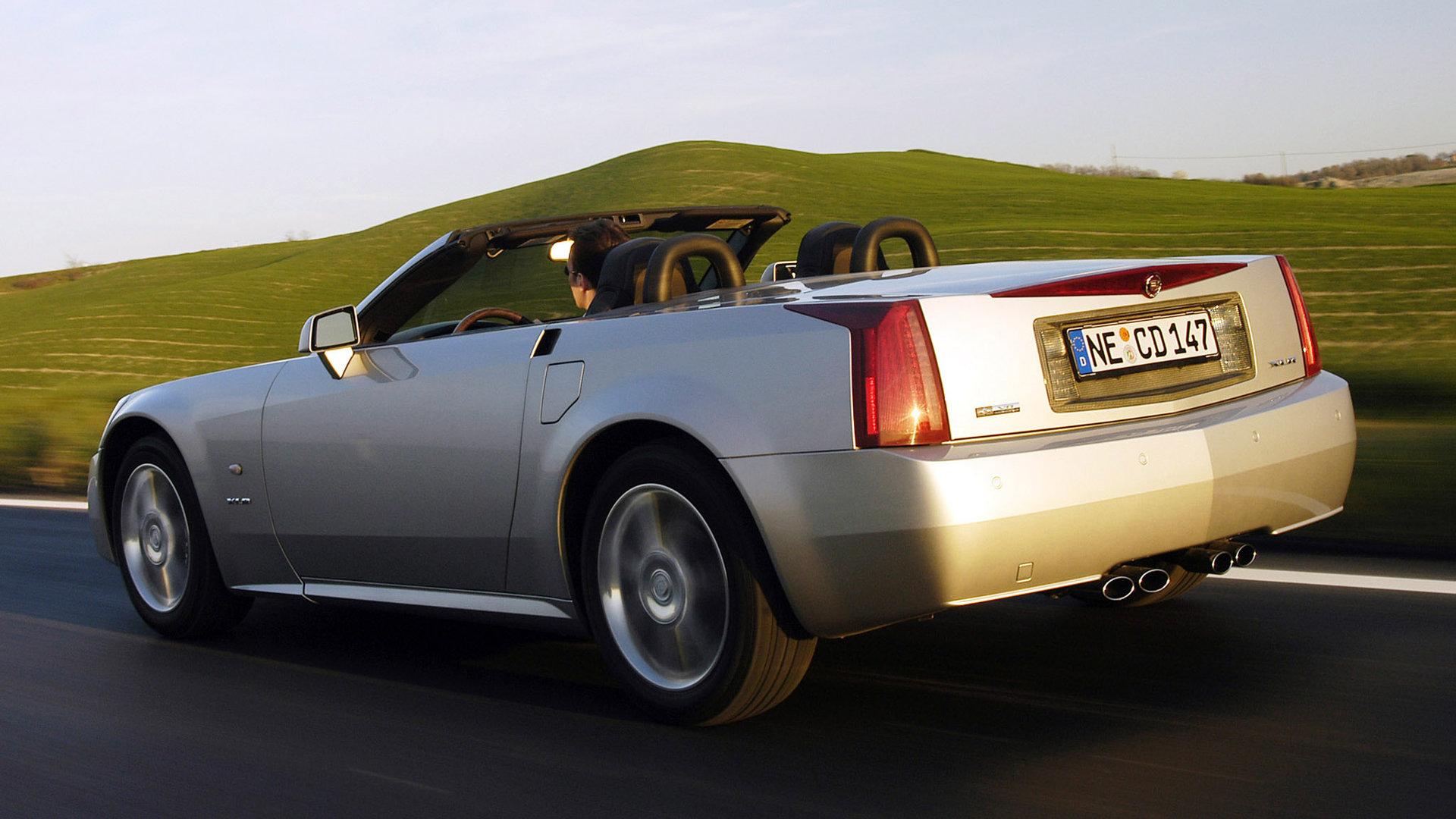Cadillac XLR Trasera
