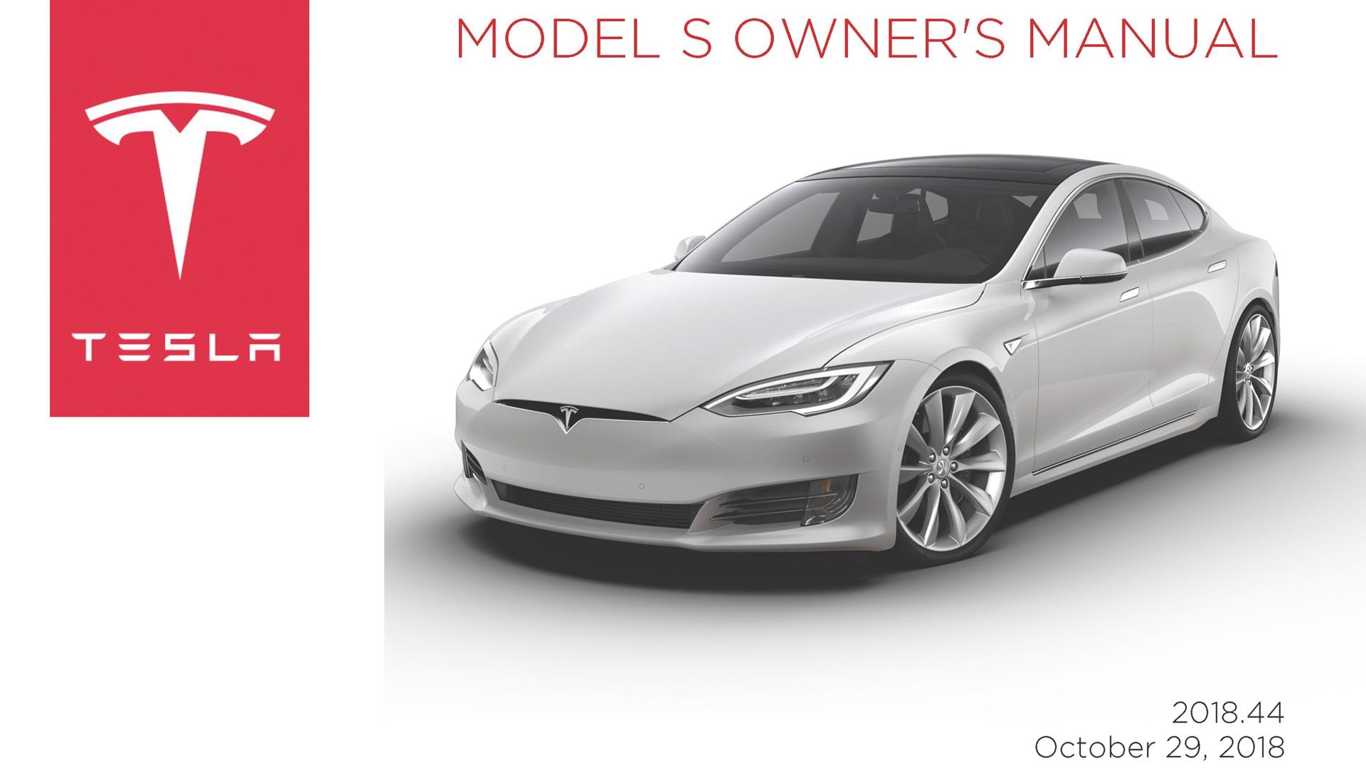 Manual De Usuario Tesla Model S