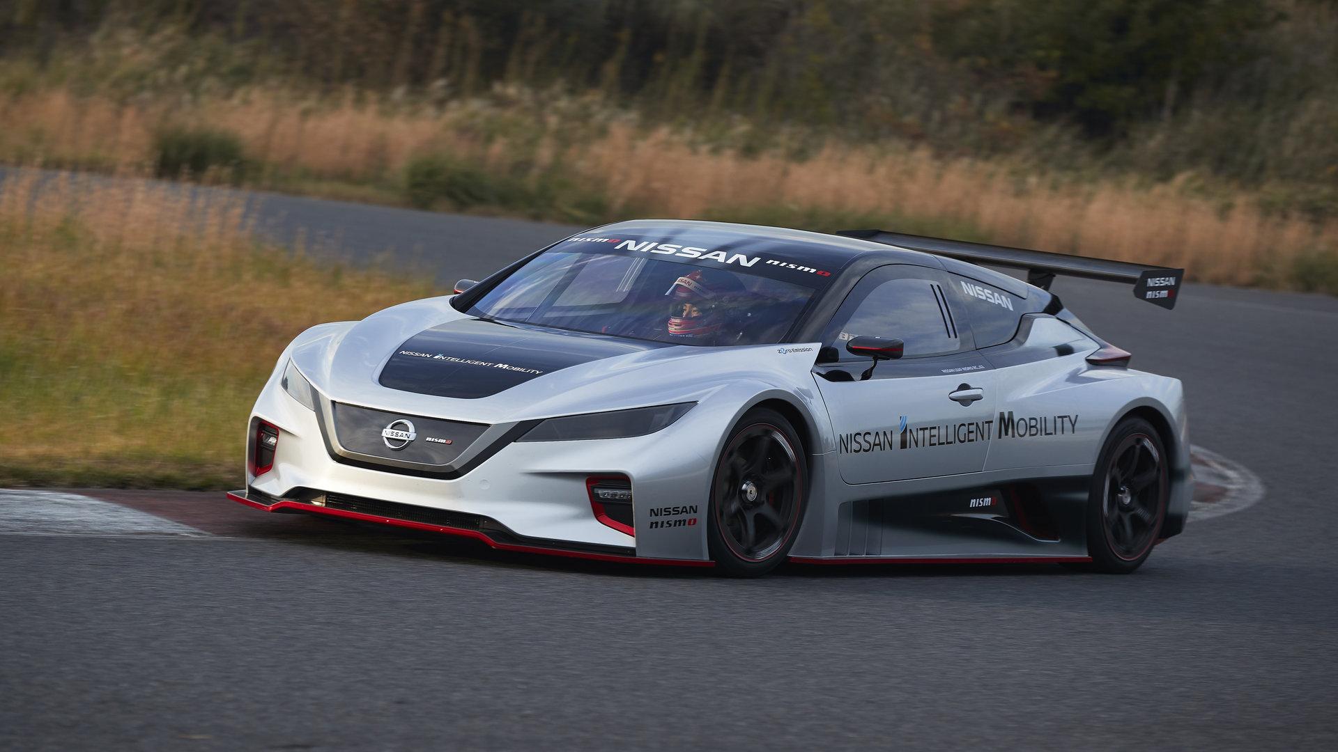 El nuevo Nissan Leaf Nismo RC debuta en Japón