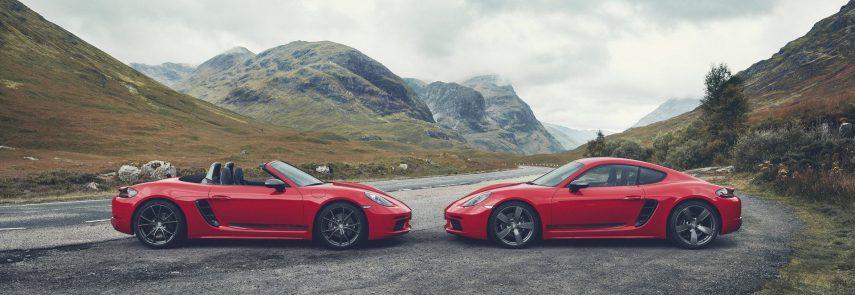 Nueva gama Porsche 718 Boxster T y 718 Cayman T