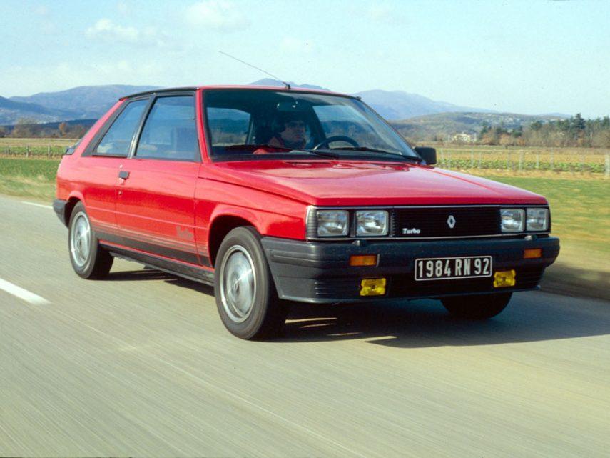 Coche del día: Renault 11 Turbo