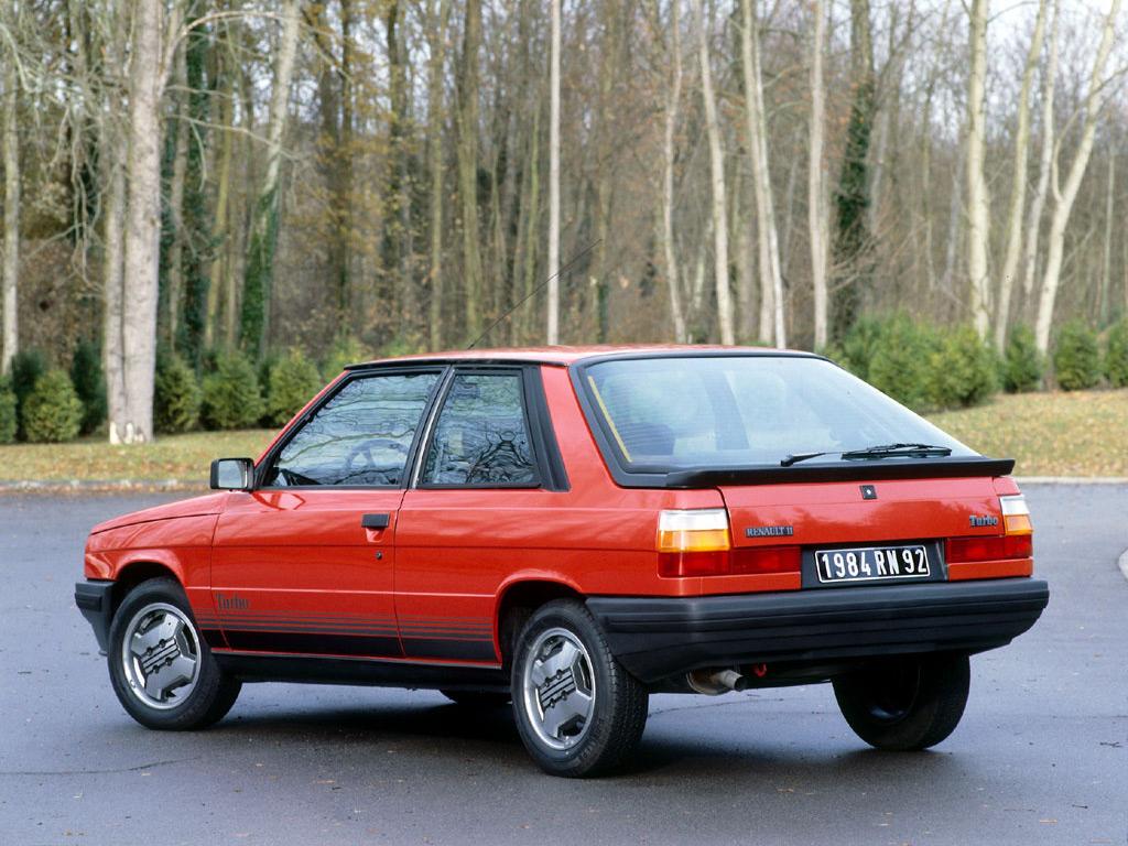 Renault 11 Turbo 2