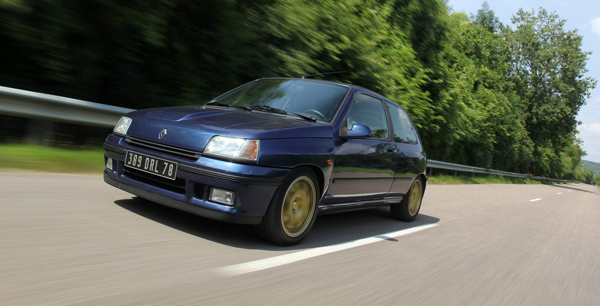Coche del día: Renault Clio Williams
