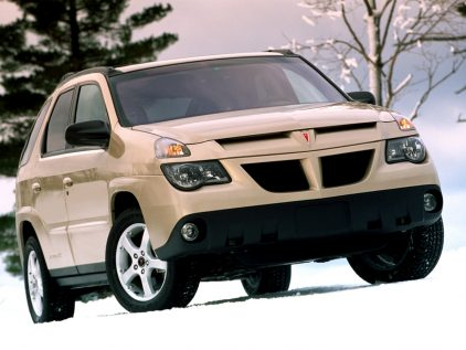2002 Pontiac Aztek Frontal