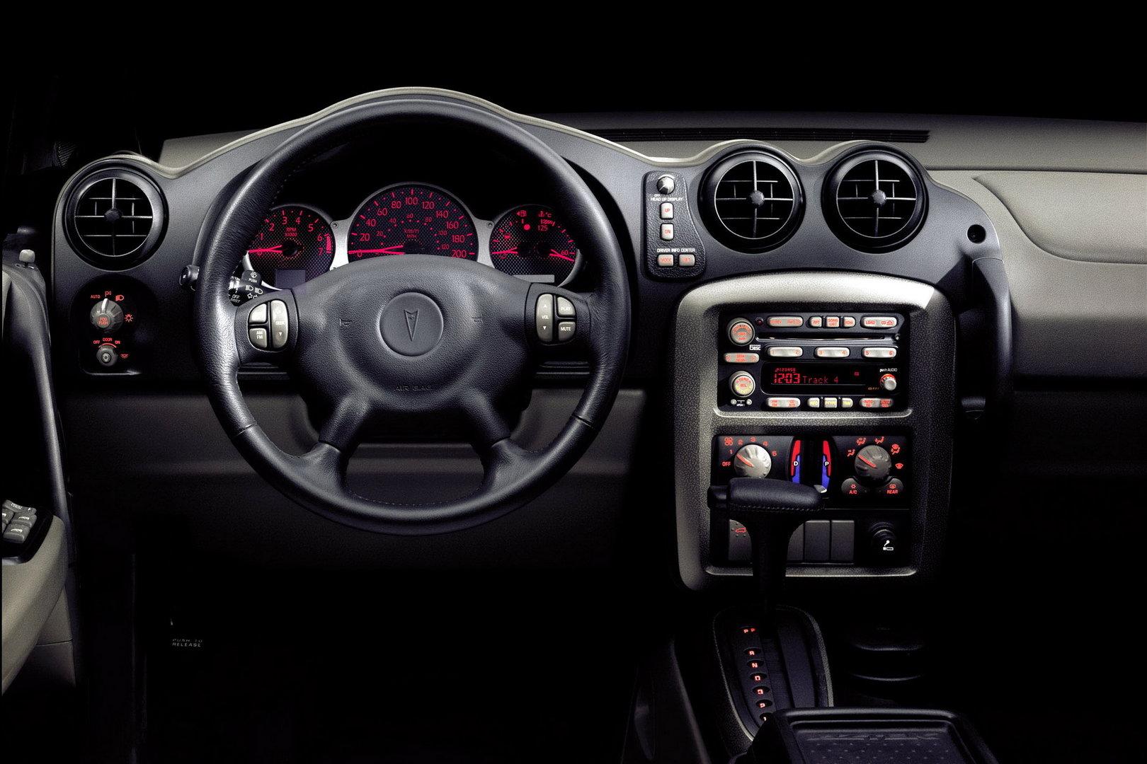 2002 Pontiac Aztek Interior