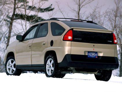 2002 Pontiac Aztek Trasera