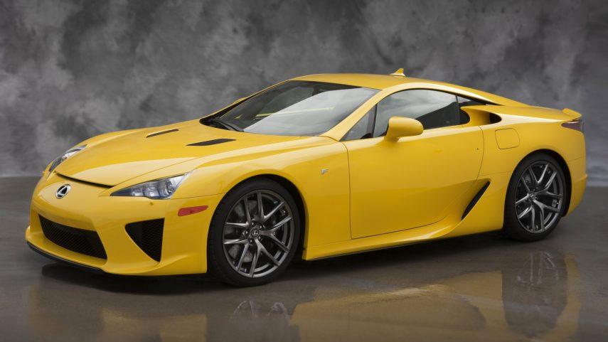 Todavía hay 8 Lexus LFA sin matricular en Estados Unidos